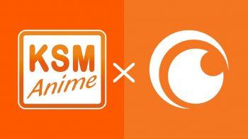 KSM Anime kündigt Partnerschaft mit Crunchyroll an
